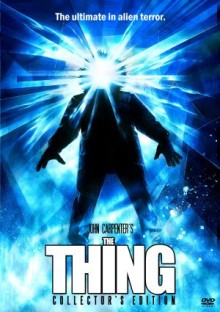 The Thing dvd cover art